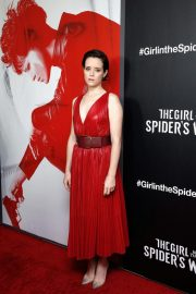 Claire Foy at The Girl in the Spider's Web Screening in New York 2018/11/04 6