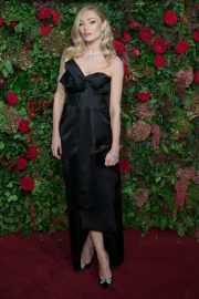 Clara Paget at Evening Standard Theatre Awards 2018 in London 2018/11/18 2