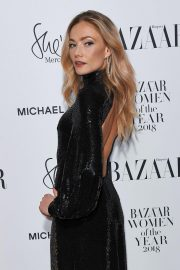 Clara Paget at Harper's Bazaar Women of the Year Awards in London 2018/10/30 6