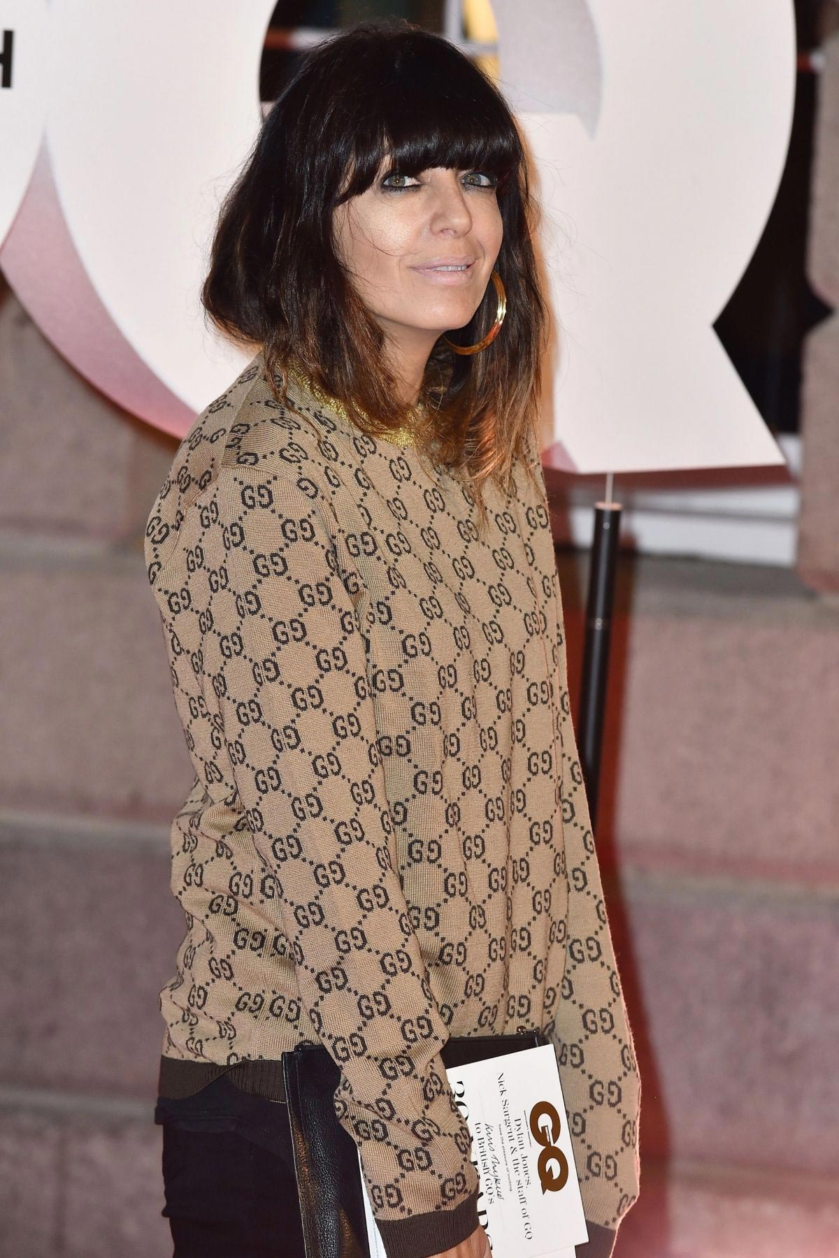 Claudia Winkleman at GQ Magazine 30th Anniversary Party in London 2018/10/29 1