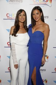 Clelia Theodorou and Shelby Tribble at Chicks Charity Event in London 2018/11/22 2