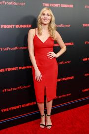 Comfort Clinton at The Front Runner Premiere in New York 2018/10/30 6