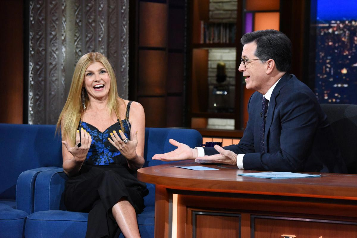 Connie Britton at Late Show with Stephen Colbert in New York 2018/11/21 1