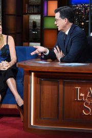 Connie Britton at Late Show with Stephen Colbert in New York 2018/11/21 2
