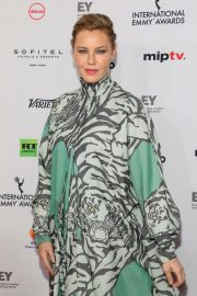 Connie Nielsen at 2018 International Emmy Awards in New York 2018/11/19 2