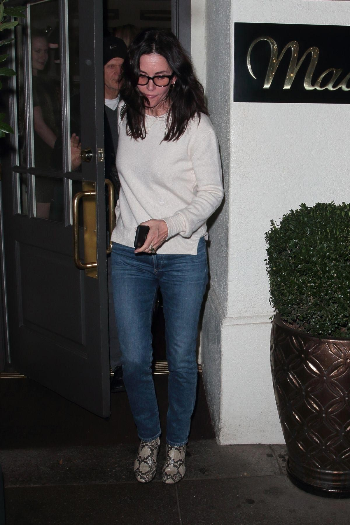 Courteney Cox at Madeo Restaurant in Los Angeles 2018/11/17 1