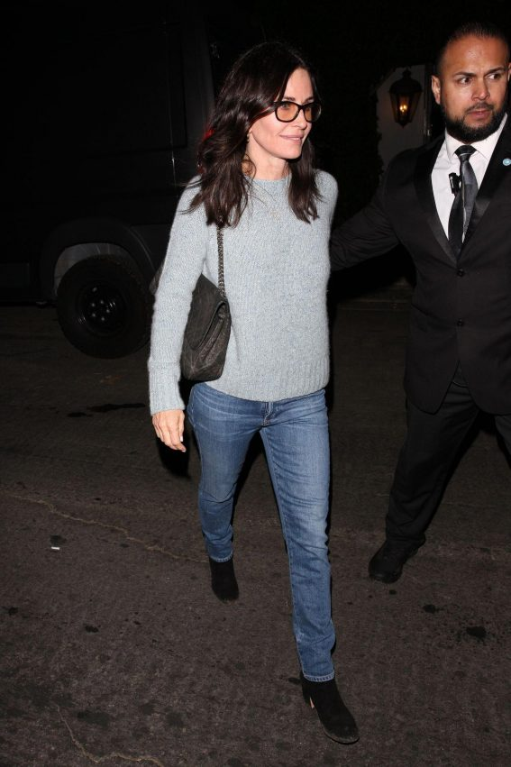 Courteney Cox Night Out in West Hollywood 2018/11/16 1