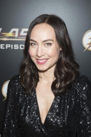Courtney Ford at The Flash 100th Episode Celebration in Los Angeles 2018/11/19 1