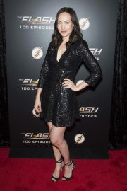Courtney Ford at The Flash 100th Episode Celebration in Los Angeles 2018/11/19 2