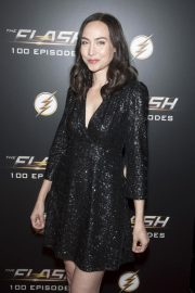 Courtney Ford at The Flash 100th Episode Celebration in Los Angeles 2018/11/19 3