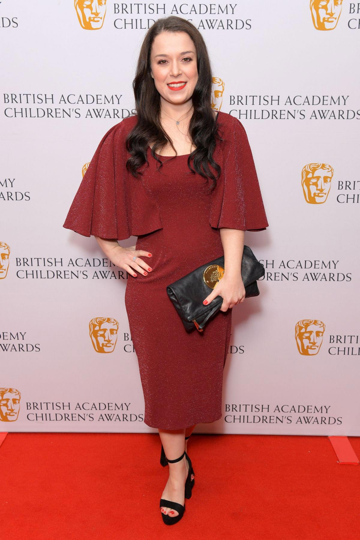 Dani Harmer at British Academy Children's Awards 2018 in London 2018/11/25 1