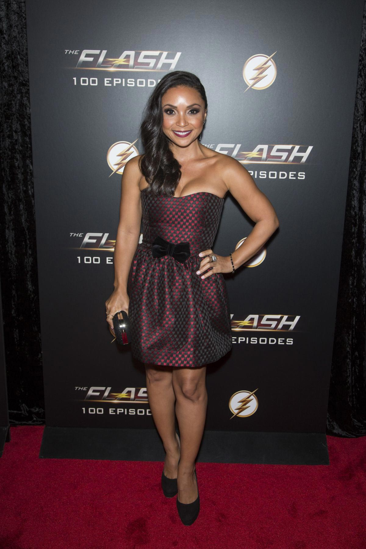 Danielle Nicolet at The Flash 100th Episode Celebration in Los Angeles 2018/11/19 1