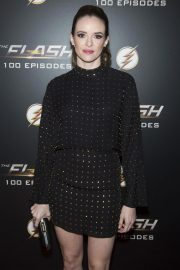 Danielle Panabaker at The Flash 100th Episode Celebration in Los Angeles 2018/11/19 3