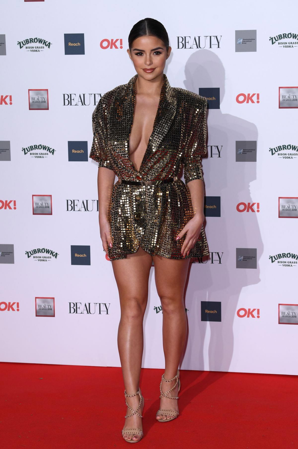Demi Rose at Beauty Awards 2018 in London 2018/11/26 1