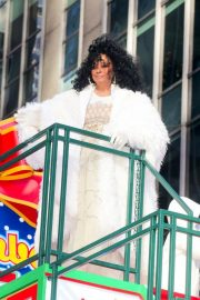 Diana Ross at 2018 Macy's Thanksgiving Day Parade in New York 2018/11/22 10