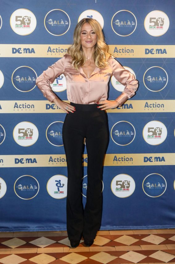 Diletta Leotta at Gran Gala Del Calcio Photocall in Milan 2018/11/20 1