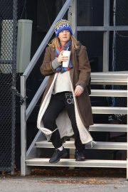 Drew Barrymore at a Heliport in New York 2018/11/26 1