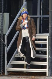 Drew Barrymore at a Heliport in New York 2018/11/26 7