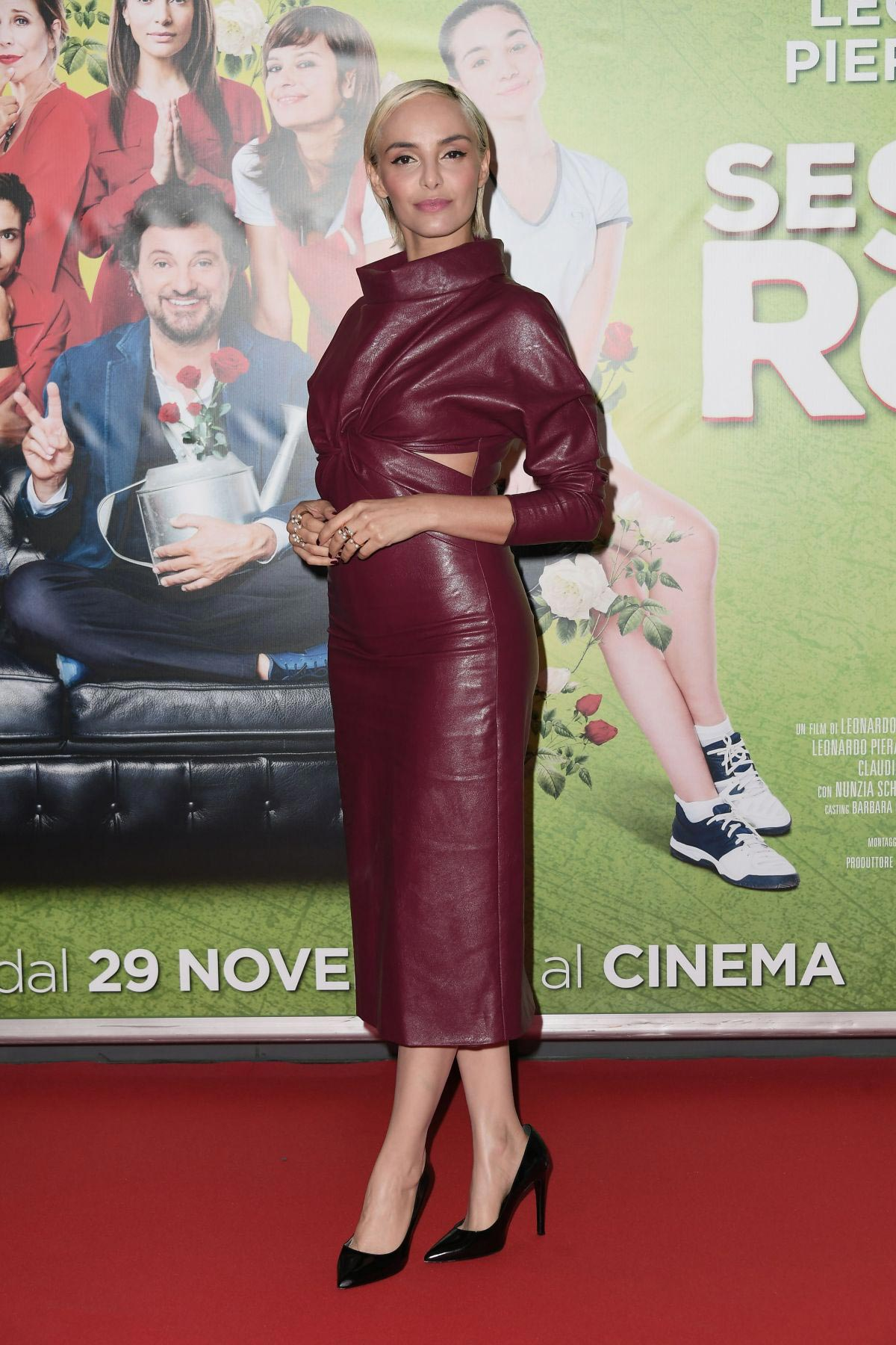 Elena Cucci at Se Son Rose Premiere in Rome 2018/11/27 1
