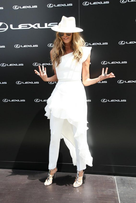 Elle Macpherson at Aami Victoria Derby Day in Sydney 2018/11/03 1