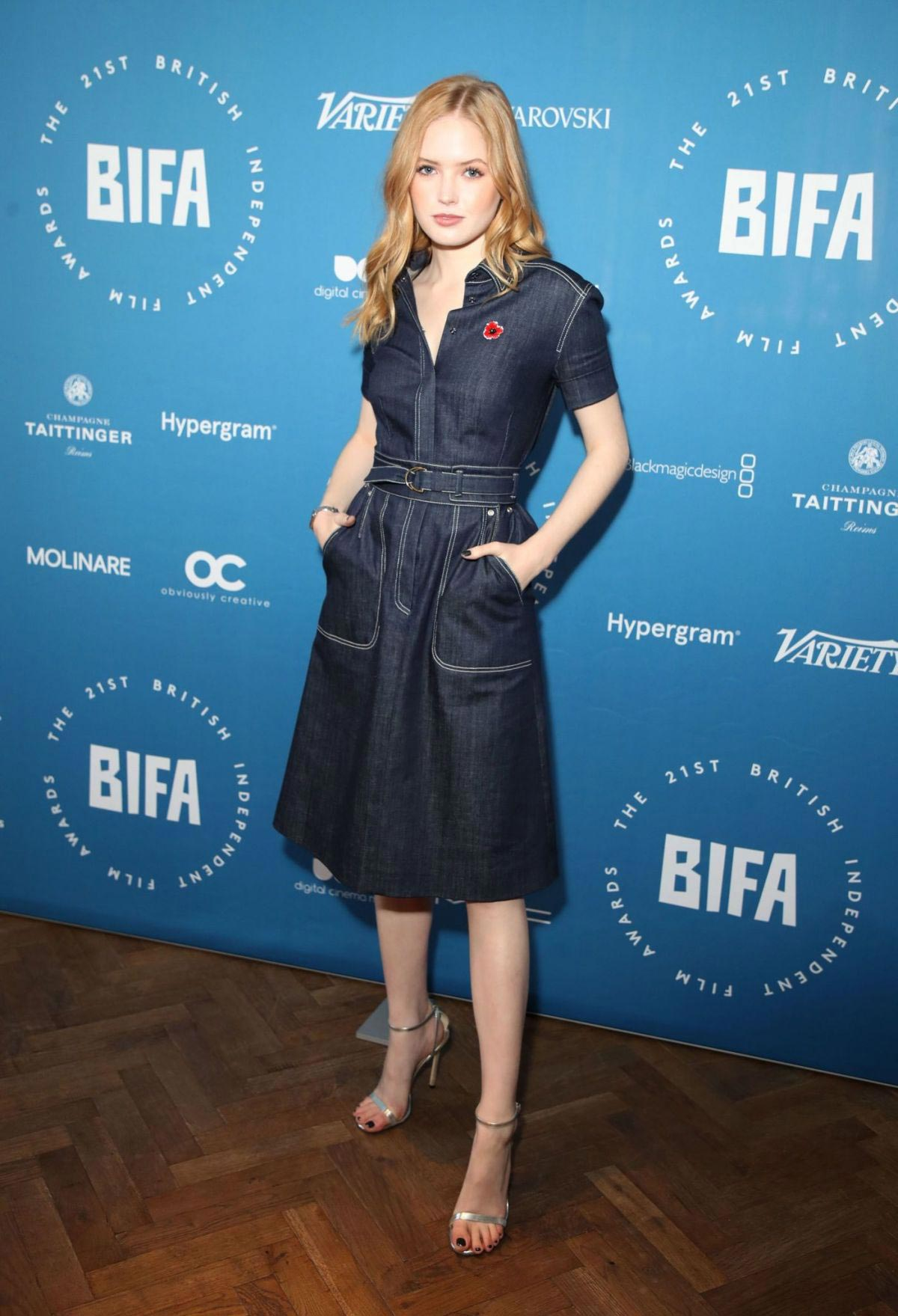 Ellie Bamber at British Independent Film Awards Nominations in London 2018/10/31 1