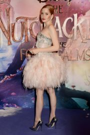 Ellie Bamber at The Nutcracker and the Four Realms Premiere in London 2018/11/01 2