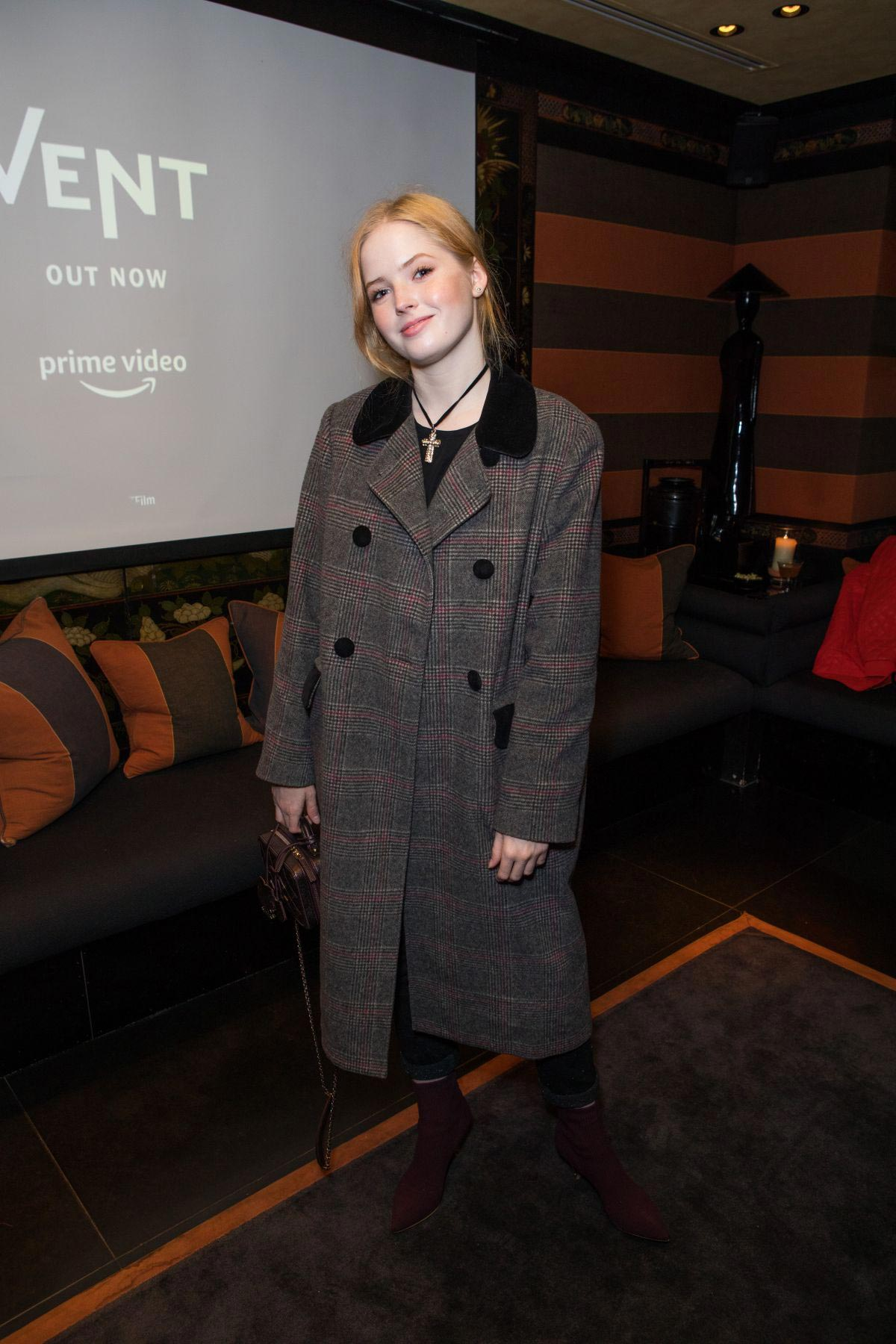Ellie Bamber at Vent Screening and Release in London 2018/11/16 1
