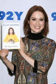 Ellie Kemper at 92Y Promotes Her My Squirrel Days Book in New York 2018/11/26 4