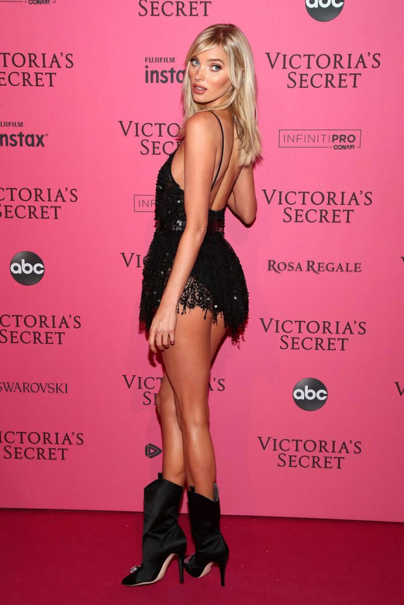Elsa Hosk at VS Fashion Show Afterparty in New York 2018/11/07 1