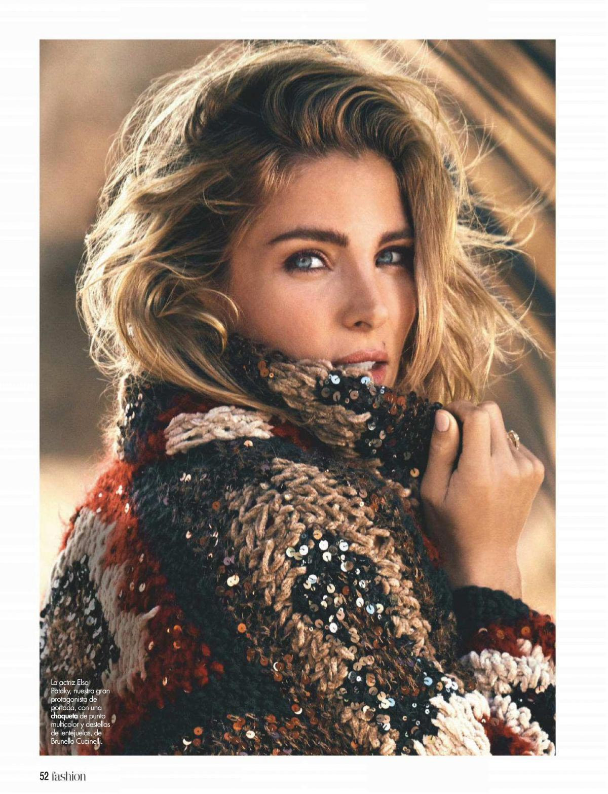 Elsa Pataky in Hola! Fashion Magazine, December 2018 1