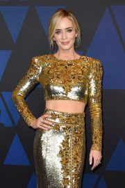 Emily Blunt at 10th Annual Governors Awards in Hollywood 2018/11/18 6
