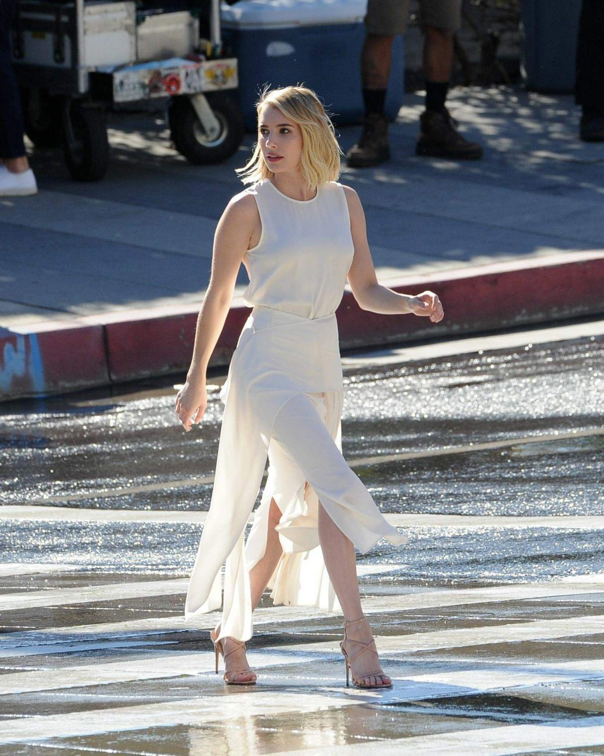 Emma Roberts for Hugo Boss Women's Campaign in New York 2018/11/04 1