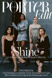 Emma Roberts, Gina Rodriguez, Gabrielle Union and Ellen Pompeo for Edit by net-a-porter, November 2018 9