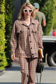 Emma Roberts Leaves Nine Zero One Salon in West Hollywood 2018/10/30 11