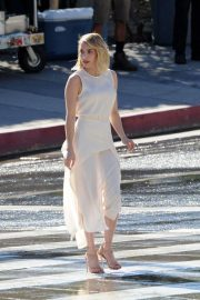 Emma Roberts on the Set of a Photoshoot in Los Angeles 2018/11/04 5