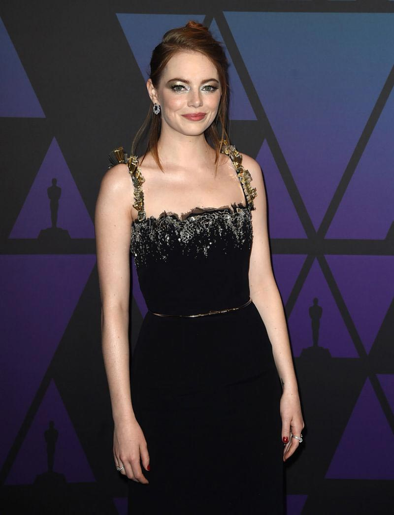 Emma Stone at 10th Annual Governors Awards in Hollywood 2018/11/18 1