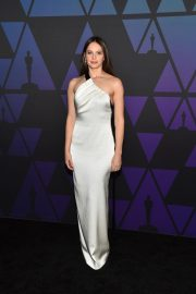 Felicity Jones at 10th Annual Governors Awards in Hollywood 2018/11/18 1