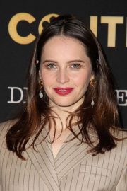 Felicity Jones at Lacma: Art and Film Gala in Los Angeles 2018/11/03 1