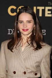 Felicity Jones at Lacma: Art and Film Gala in Los Angeles 2018/11/03 4