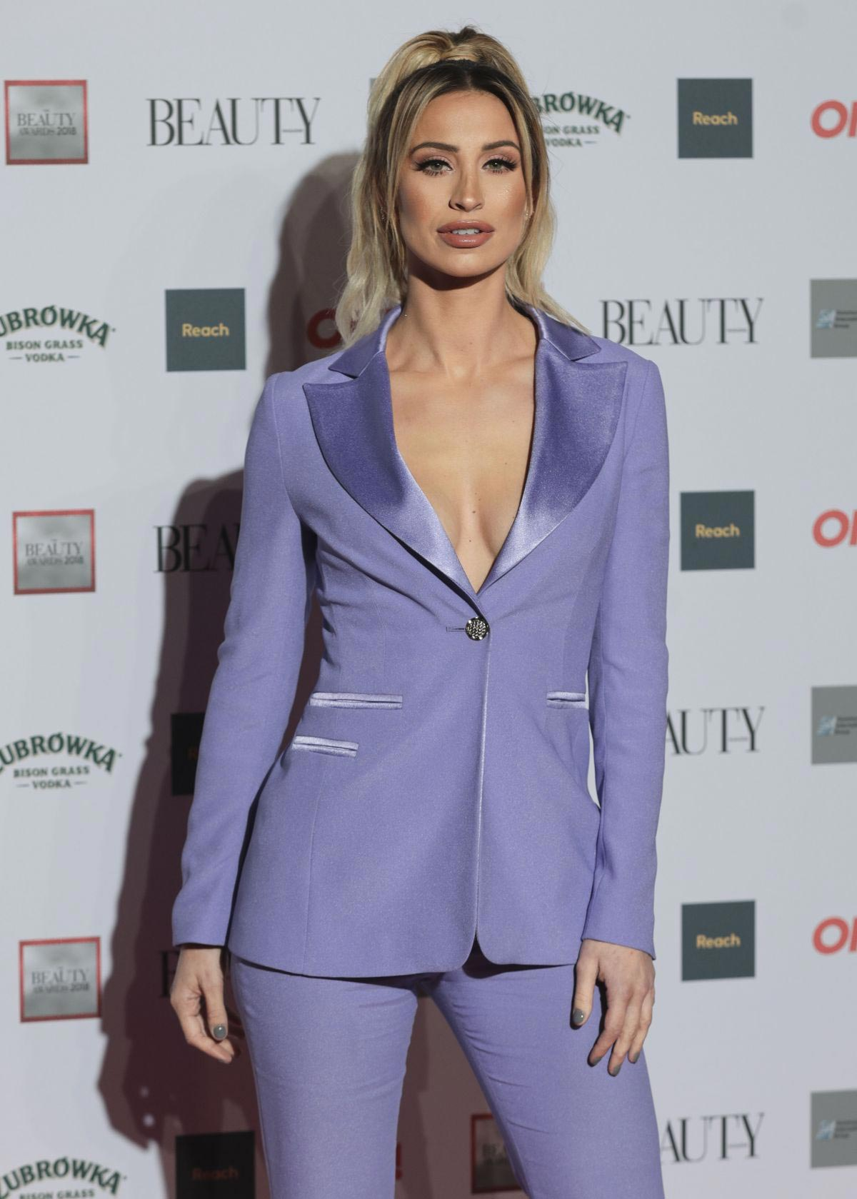 Ferne McCann at Beauty Awards 2018 in London 2018/11/26 1