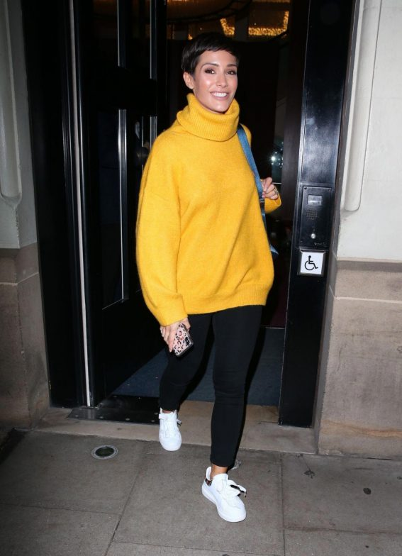 Frankie Bridge Leaves Strictly Come Dancing: It Takes Two in London 2018/11/02 1