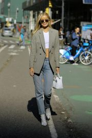 Frida Aasen at Victoria's Secret Fashion Show Fittings in New York 2018/11/01 2