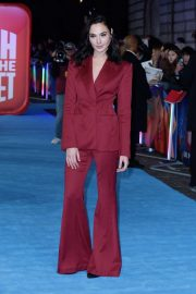 Gal Gadot at Ralph Breaks the Internet Premeire in London 2018/11/25 12