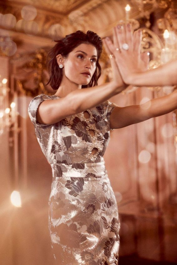 Gemma Arterton in Harper's Bazaar, UK October 2018 1