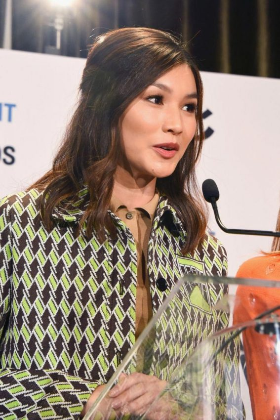 Gemma Chan at 2019 Film Independent Spirit Awards Nomination Press Conference in Hollywood 2018/11/16 1