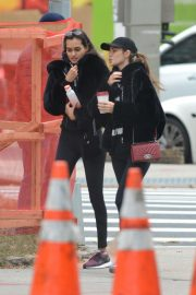 Gizele Oliveira and Cindy Mello at a Gym in New York 2018/11/07 2