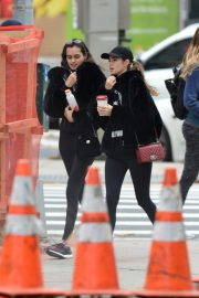 Gizele Oliveira and Cindy Mello at a Gym in New York 2018/11/07 4