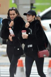 Gizele Oliveira and Cindy Mello at a Gym in New York 2018/11/07 5