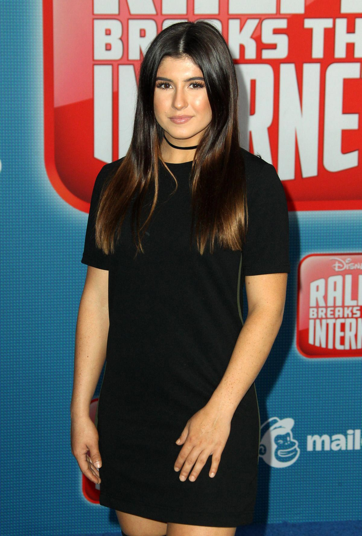 Hailie Deegan at Ralph Breaks the Internet Premiere in Hollywood 2018/11/05 1