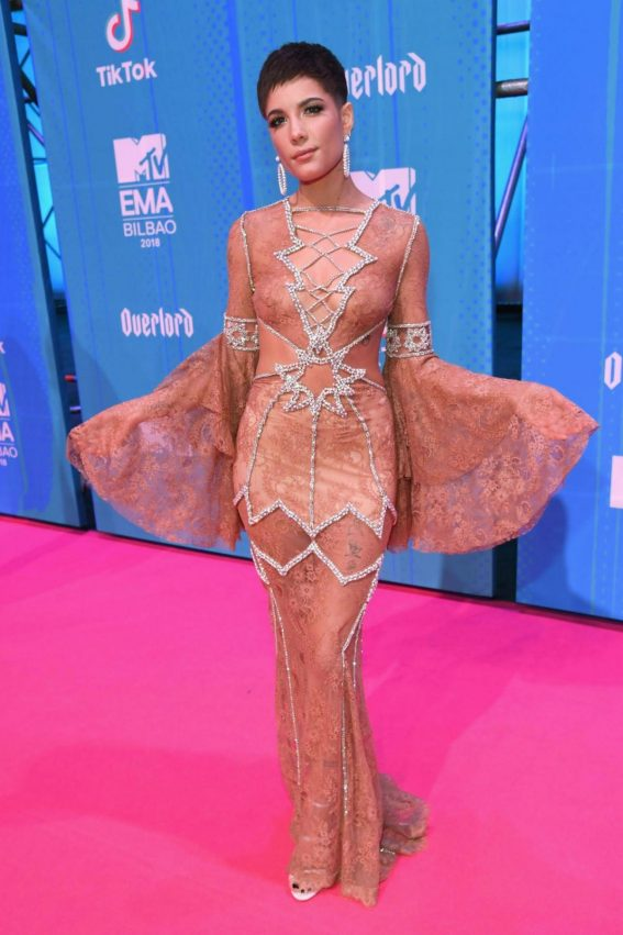 Halsey at MTV European Music Awards 2018 in Bilbao 2018/11/04 1